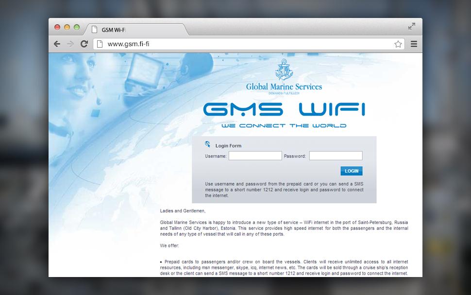 GMS Wi-Fi