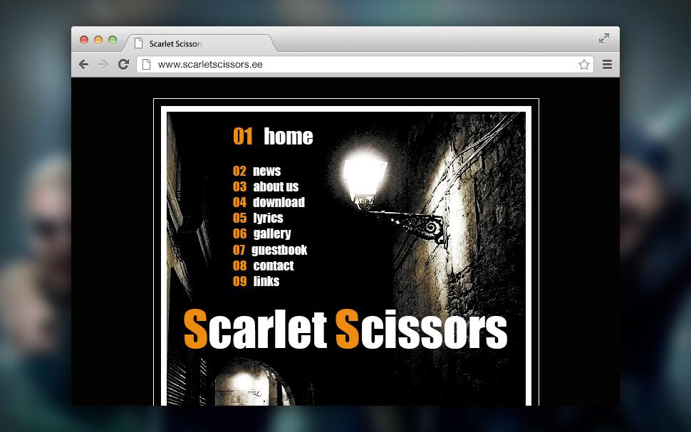 Scarlet Scissors